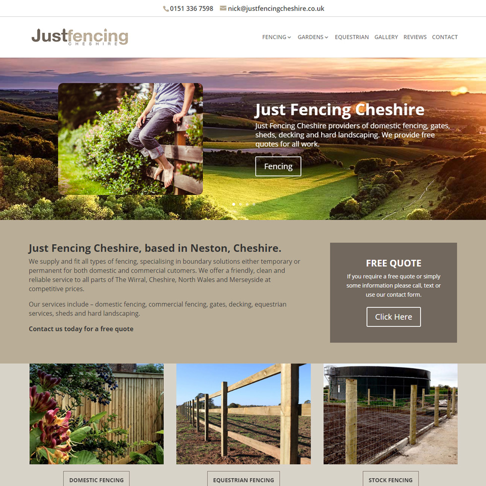 Just Fencing Cheshire